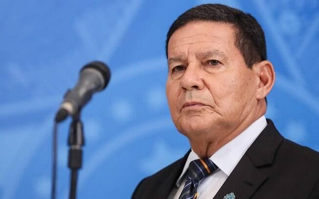 Vice-presidente Hamilton Mourão