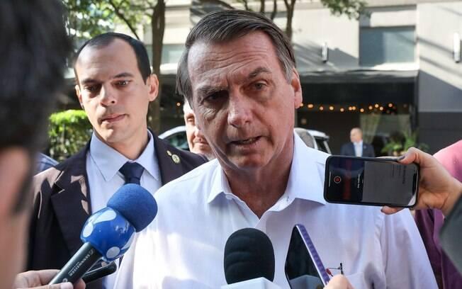 Jair Bolsonaro atacou jornalista da Folha nos Estados Unidos