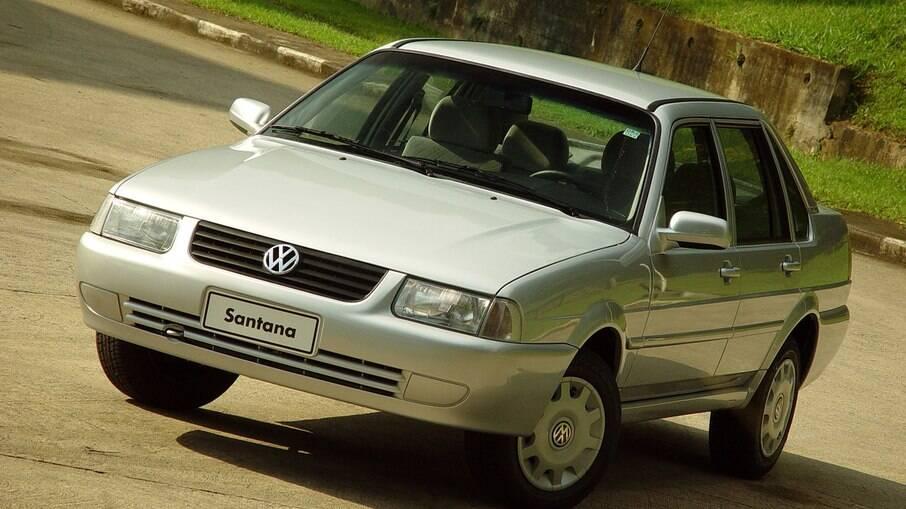 VW Santana foi fabricado até 2006 contabilizando o montante de 548.494 carros desde o início de sua produção, em 1984
