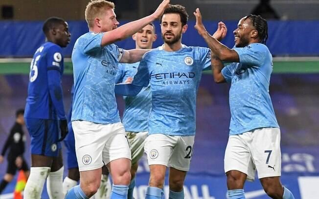 City venceu o Chelsea por 3 a 1