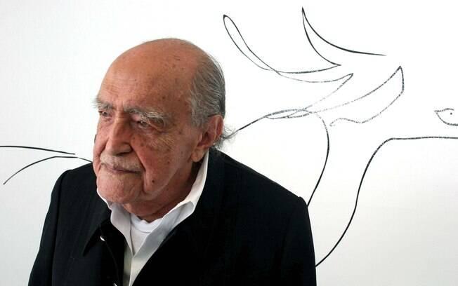 Oscar Niemeyer: aos 104 anos em plena atividade