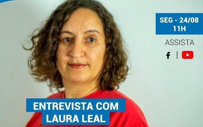 Laura Leal é a entrevista do iG nesta segunda-feira (24).