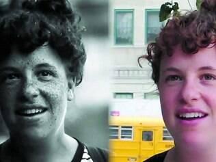 Sardas. Câmera especial revelou que rostos das pessoas branquinhas continham uma concentração maior de sardas, antes invisíveis