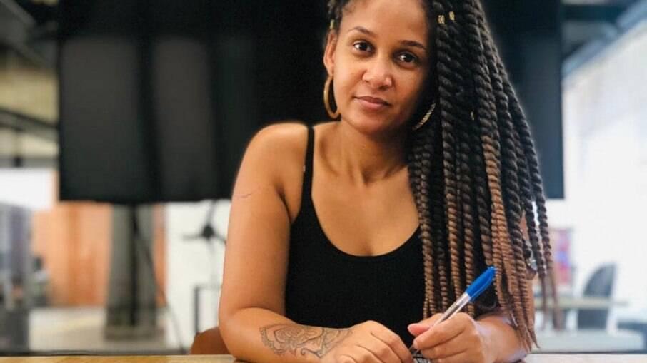 Nerie Bento, pesquisadora do rap feminino no Brasil