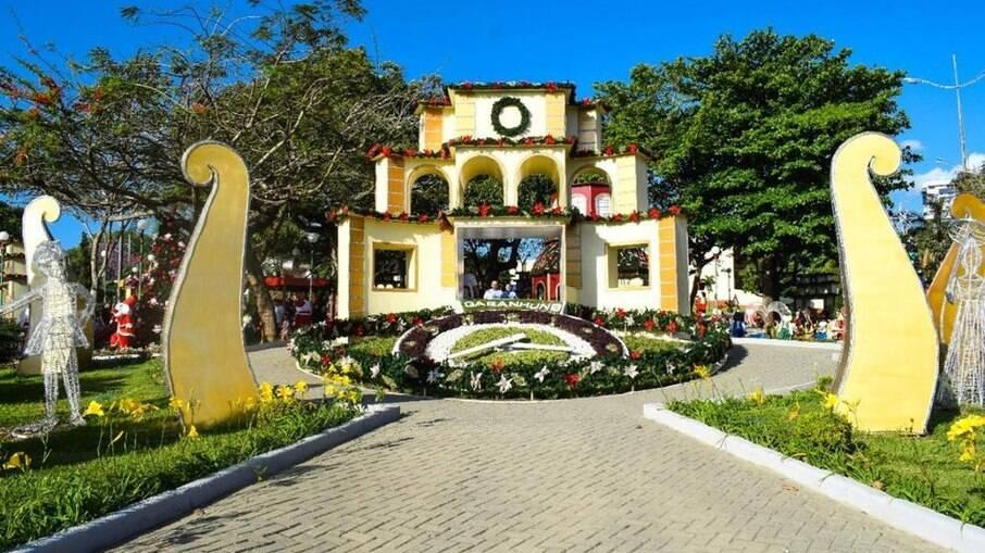 Relógio das Flores, em Garanhuns, é um dos principais cartões postais da cidade