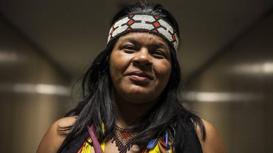 Sonia Guajajara é coordenadora executiva da Articulação dos Povos Indígenas do Brasil (Apib)