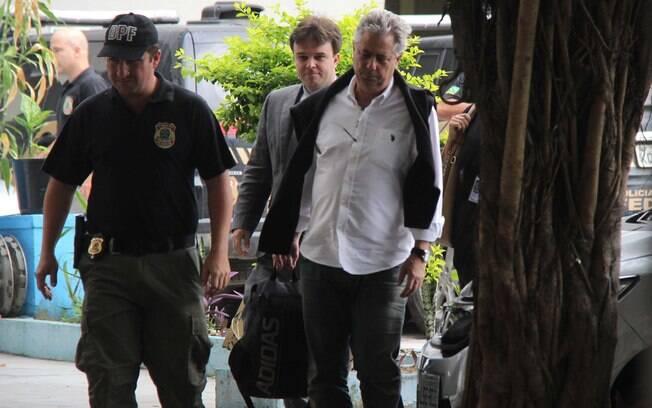 Advogado Edson Ribeiro foi preso no Aeroporto Tom Jobim, no Rio de Janeiro, logo após chegar de Miami (EUA)