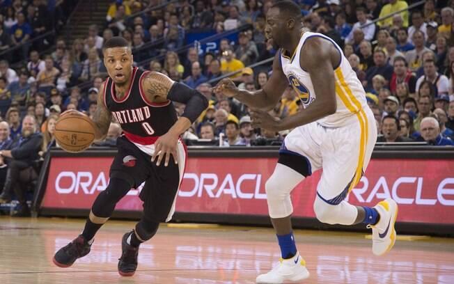 Warriors x Portland é o jogo de abertura das finais de conferência da NBA