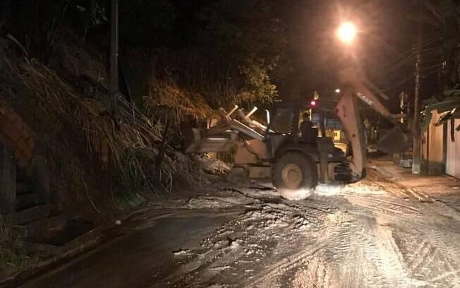 Temporal causou diversos estragos em cidades do interior do Rio