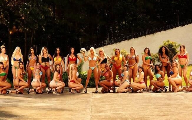 Copa do Mundo e Diversidade: Daily Mail apresenta as 27 candidatas ao título do último Miss Bumbum
