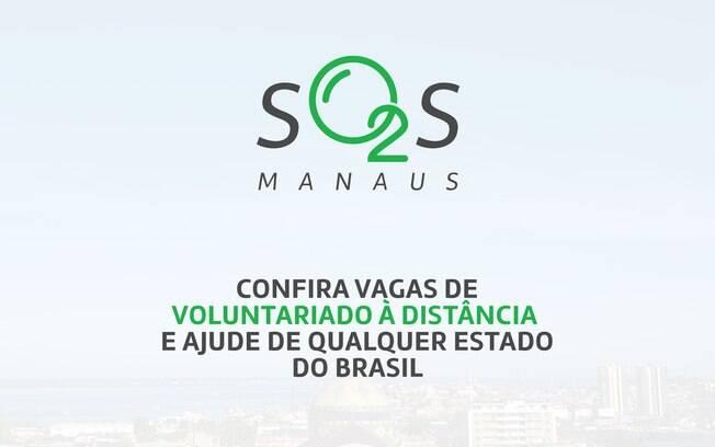 Plataforma abre mais de 200 vagas de voluntariado a distância para Manaus