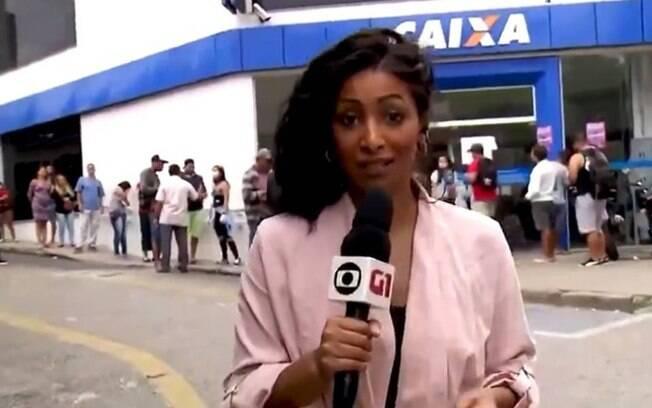 Repórter da Globo passa por situação delicada ao vivo
