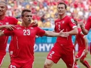 Jogador do Bayern de Munique, Shaqiri foi o nome da partida contra os hondurenhos