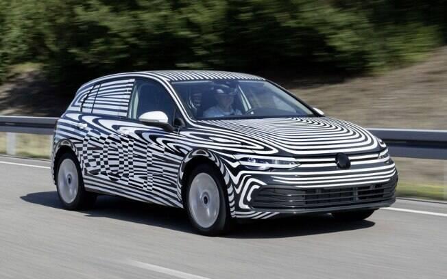 VW Golf de nova geração será maior que o atual, o que favorecerá o espaço interno e os ganhos de estabilidade