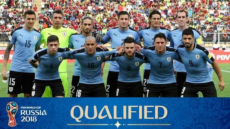 Uruguai  todas as informações sobre a seleção na Copa 2018 - Copa do Mundo  - iG 6956b7f403a60