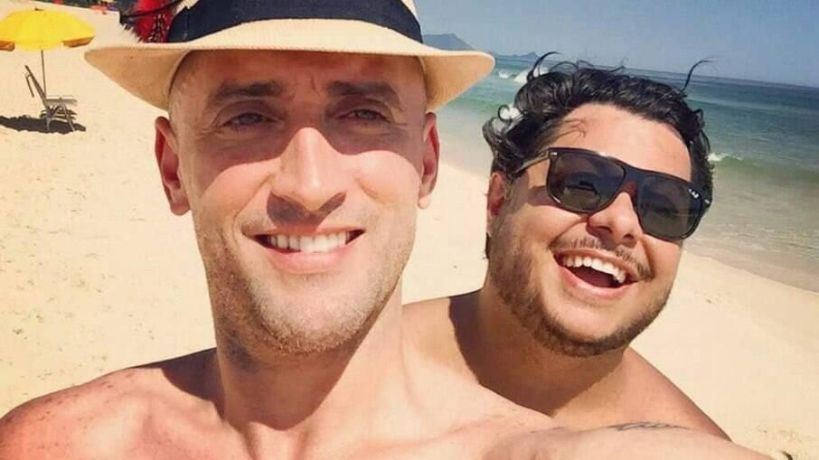 Marcus Majella falou sobre a morte de Paulo Gustavo
