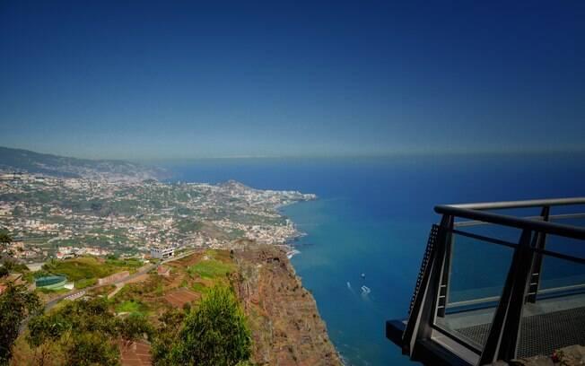 Cabo Girão é o mirante mais famoso da Ilha da Madeira