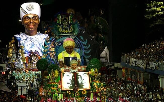 Vai-Vai homenageou Gilberto Gil em seu desfile