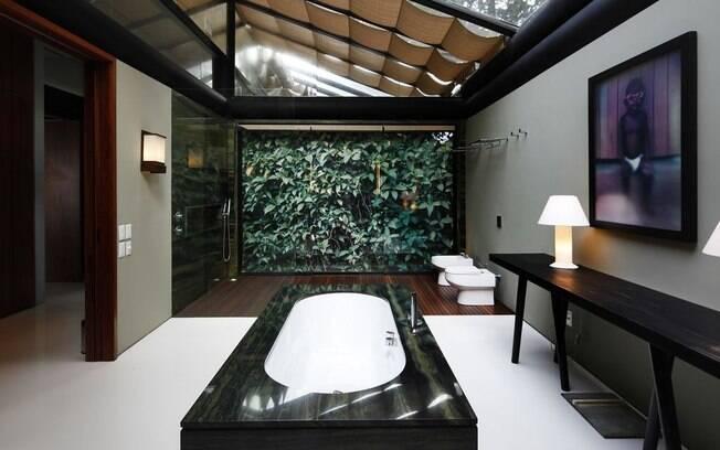 O estado do Rio de Janeiro está entre as opções de aluguel que possuem casas com banheiro de luxo