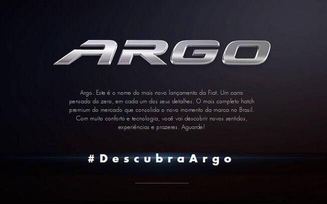 O nome do Argo