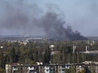 Aeroporto Internacional de Donetsk é um dos alvos estratégicos no conflito entre russos e ucranianos