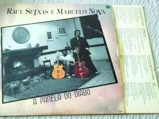 """1989. """"A Panela Do Diabo"""", parceria com Marcelo Nova e último disco de Raul Seixas, é um dos clássicos relançados pela Eldorado"""