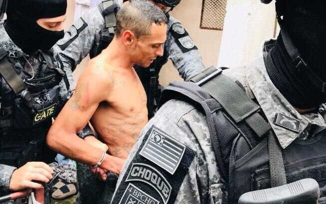 O Traficante e ex-presidiário foi indiciado por sequestro, tentativa de homícidio e resistência.