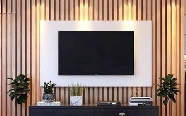 Saiba como adotar os elementos ripados na decoração da casa