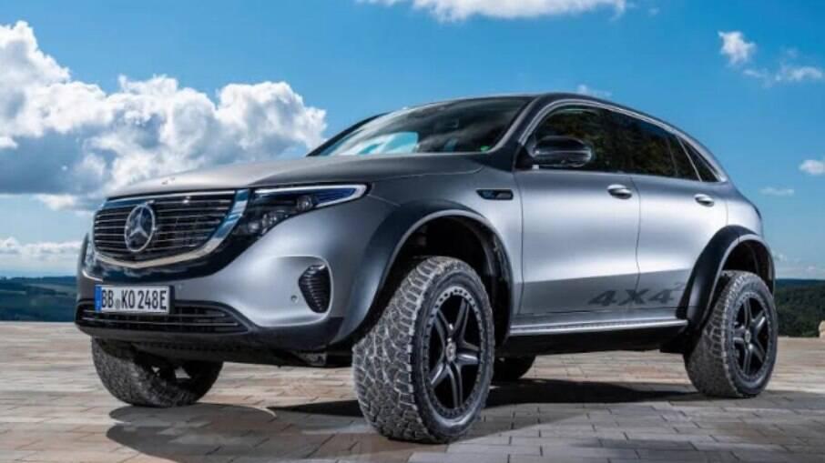 O grandalhão Mercedes-Benz EQC é aposta da Daimler no mercado de SUVs grandes 100% elétricos; modelo custa R$ 629.900