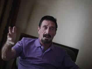 Preso na Guatemala, McAfee pode ser mandado de volta para Belize