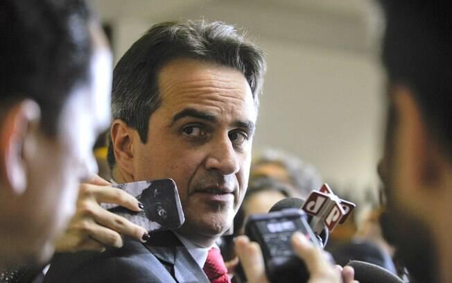 Senador Ciro Nogueira (PP-PI) foi alvo de mandados de busca e apreensão cumpridos pela PF no Congresso