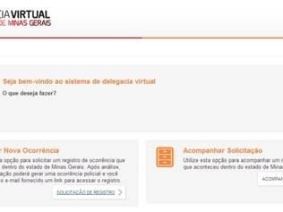 Serviços já estão disponíveis por meio da página da Delegacia Virtual