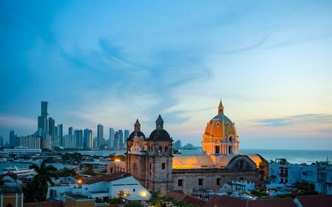 Cartagena das Índias, na Colômbia, é um dos lugares indicados para passar Lua de Mel