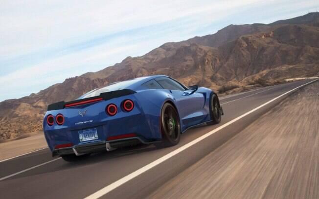 A Tesla que se cuide, pois o Corvette é cativo ha muitos anos do mercado e, agora elétrico, também é futurista