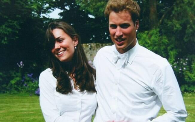 Príncipe William conheceu Kate Middleton em 2002, aos 21 anos, quando estudavam na mesma universidade