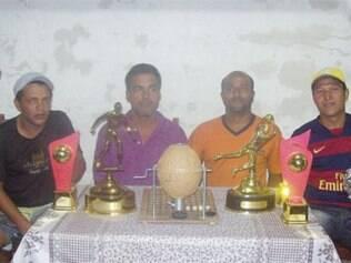 Representantes das quatro equipes participaram do sorteio que definiu os confrontos