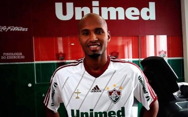 Wellington Silva deixou o Flamengo e será  opção para a lateral do Fluminense nesta  temporada