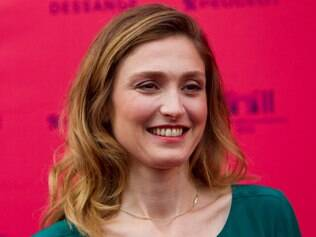 French actress and Member of the jury Julie Gayet arrives at the premiere of the feature film