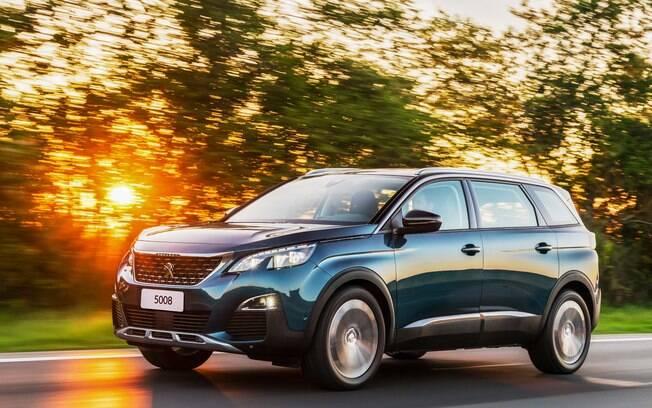 Peugeot 5008: irmão maior do 3008, o modelo de sete lugares foi o SUV que menos perdeu valor em 2019