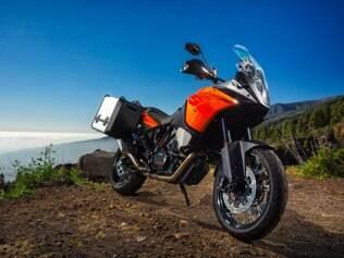 KTM 1190 Adventure traz controle de estabilidade inteligente