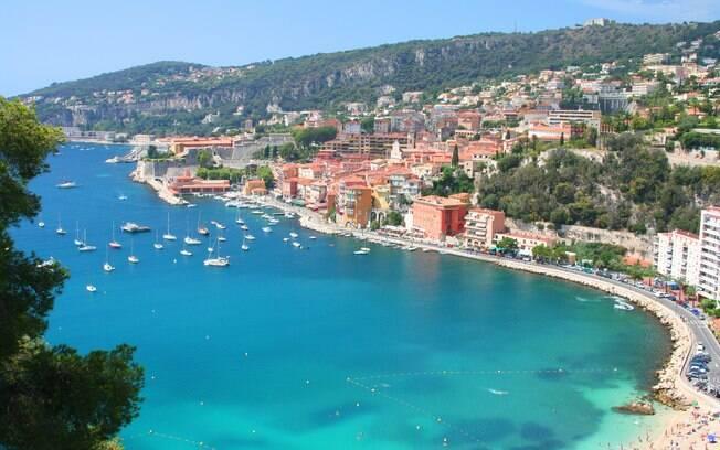 No tempo livre, passeios por Nice, Mônaco e Cannes, na charmosa Côte d'Azur