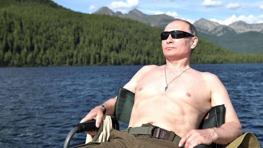 Mais uma vez, presidente russo foi eleito o homem mais sexy do país em votação