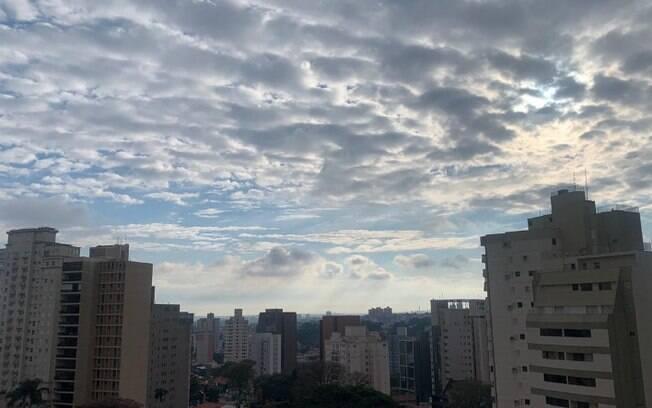 Frente fria derruba temperatura neste domingo em Campinas