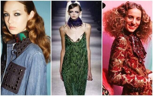 Referências dos desfiles de outono/inverno 2016 de Sonia Rykiel, Dries Van Noten e Gucci