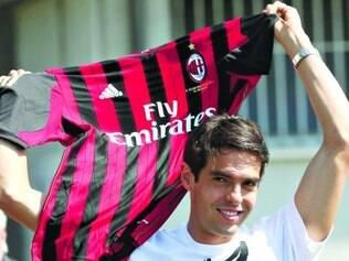 Kaká defendeu o Milan entre 2003 e 2009, e conquistou vários títulos com o clube
