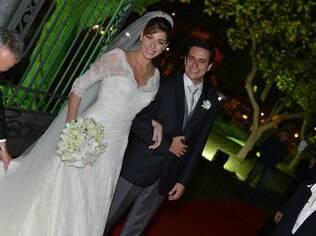 Luma Costa e o marido, Leonardo, estão à espera do primeiro filho