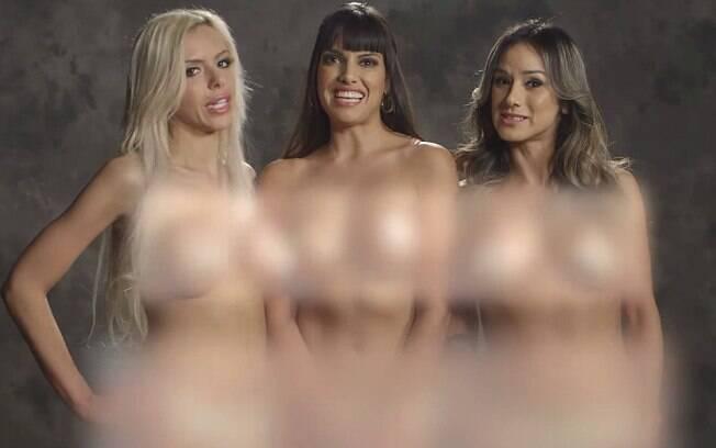 Nina Elle, Mercedes Carrera e Nadia Styles