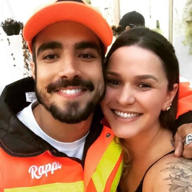 Mariana Franceschini recebeu uma encomenda de Caio Castro