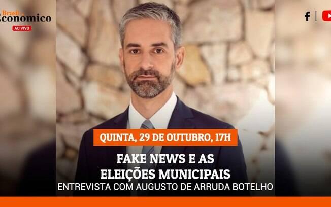 Augusto Arruda Botelho é entrevistado do Brasil Econômico ao Vivo desta quinta