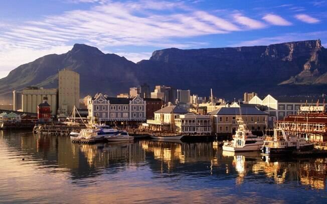 Cidade do Cabo é pequena; andarilhos podem programar os passeios a pé